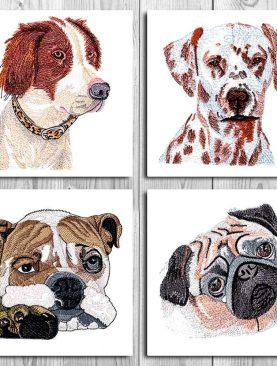 Реалистичный Набор Собак