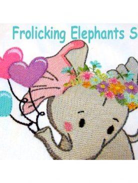 Резвящиеся слоны Набор 1
