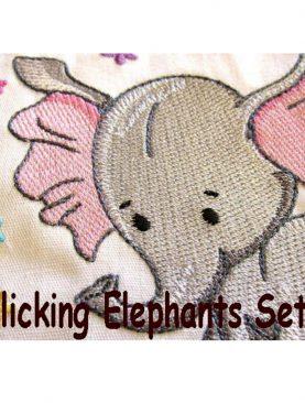 Резвящиеся слоны Набор 2