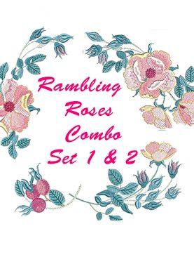 Раскидистые розы Комбинация Набор 1 и Набор 2