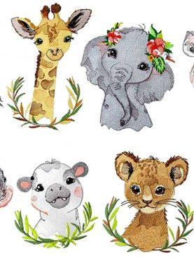 Детеныши животных Африки