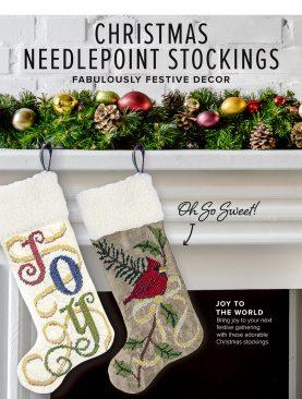 Рождественские Чулки Needlepoint