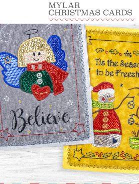 Майлар Рождественские открытки