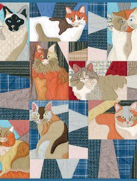 Лоскутные кошки